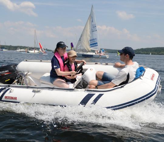 Schlauchtbootslalom / Jugendrennboot MS11